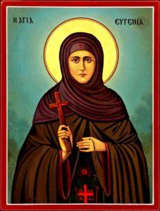 St. Virgin Eugenia